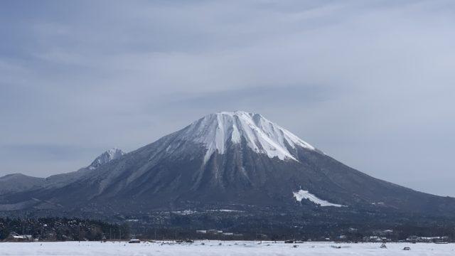 伯耆町からの大山