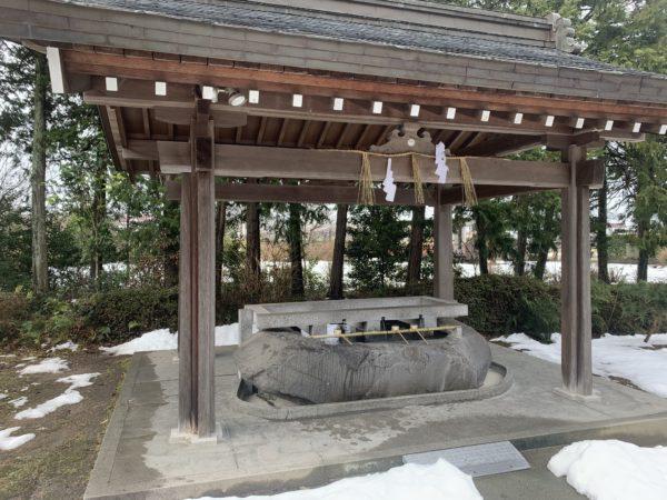 大神山神社手水舎