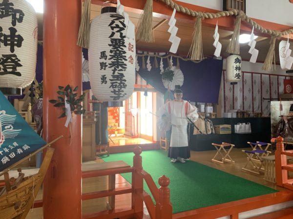 伯耆稲荷神社内1