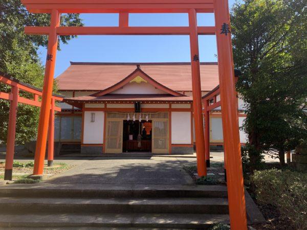 伯耆稲荷神社鳥居2